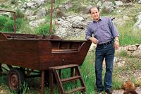 Fadi Gerges- Owner of Clos de Cana Vineyard, Ras el Harf, Bhamdoun